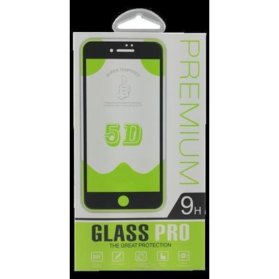 A70 5D Glassfolie 9H - Screen protector Black