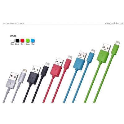 Konfulon S05 Datenkabel USB Data Cable for iPhone 5/6/iPad