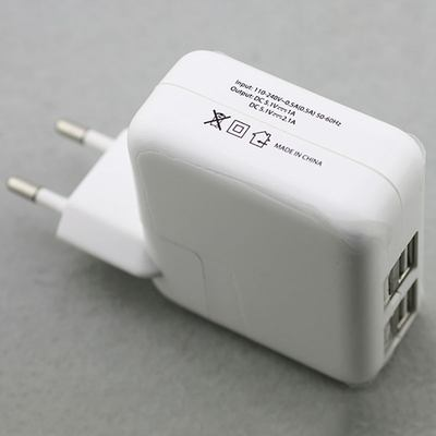 4-Port USB AC Charger Ladegerät für iPad and iPhone Series, 4A
