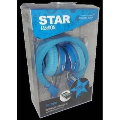 ML-828 Star Stereo Headphone Headset Kopfhörer
