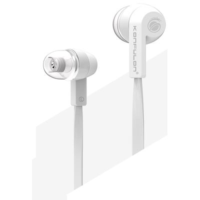 Konfulon IN09 - InEar Headphone Stereo Kopfhörer - Universal Ohrhörer - White