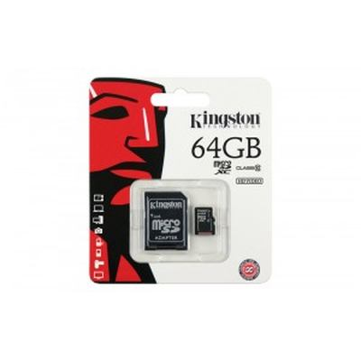 Kingston 64GB Micro SD Class 10 Memory Card