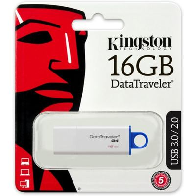 Kingston USB-Stick 3.0 - DataTraveler G4, 16GB