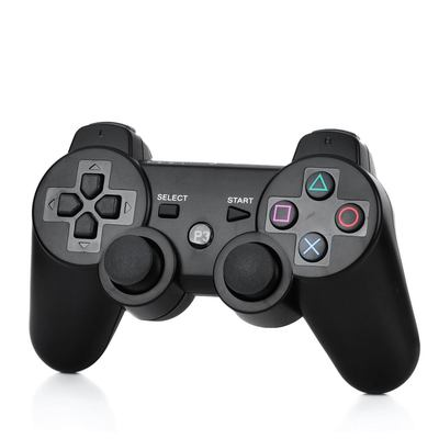Bluetooth Wireless DoubleShock III Controller for PS3, Rechargeable  - Black